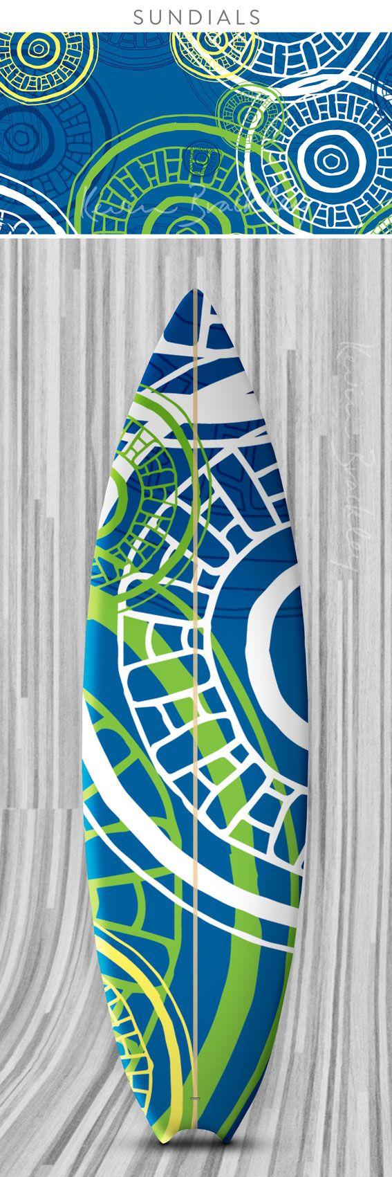 Surfboard concept in my Sundials design