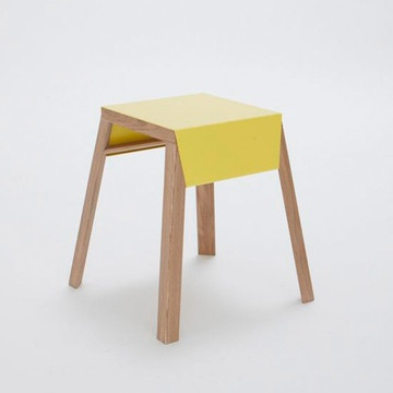 Stackable Stool Aino Yellow