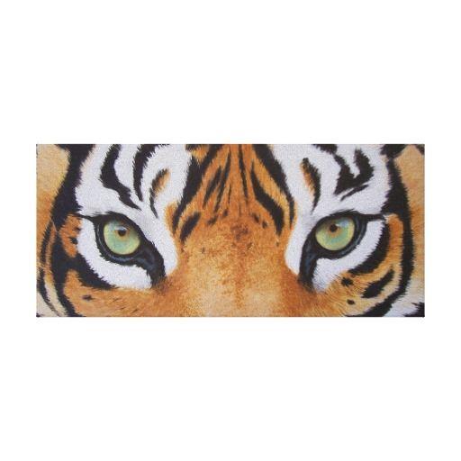 Tigers Eyes Canvas Print