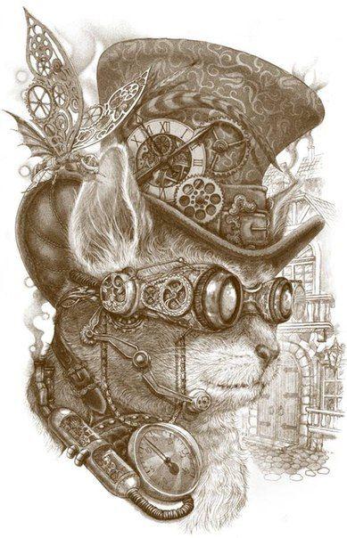 Steampunk Owl Art - Bing Images