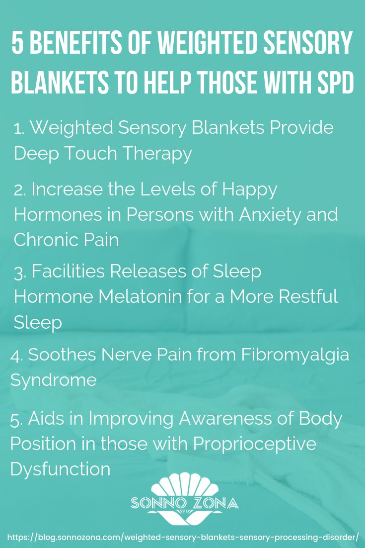 5 Amazing Benefits Of Weighted Sensory Blankets For Sensory Processing Disorder Sensory Processing Disorder Disorders Sensory Processing