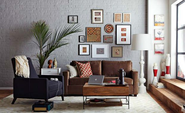 102 Best Brown Couch Decor Images On Pinterest Living