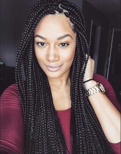 Pretty box braids - http://community.blackhairinformation.com/hairstyle-gallery/braids-twists/pretty-box-braids-2/