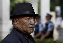 """His ability to court controversy and his full tā moko make him well-recognised.  With three others he was tried on charges of """"illegal possession of firearms and participation in an organised criminal group"""" in 2012.[1] The jury could not reach a verdict on the charge of belonging to a criminal group, but found all four guilty of firearms charges – and in May 2012, Iti was sentenced to jail for two-and-a-half years for these"""