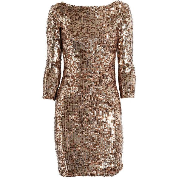 Alice + Olivia Sequined stretch-mesh dress found on Polyvore SOLD OUT :(