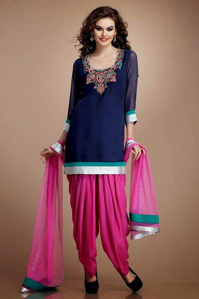 New Pk-Fashion: Patiala Salwar | Patiala Trouser with ...