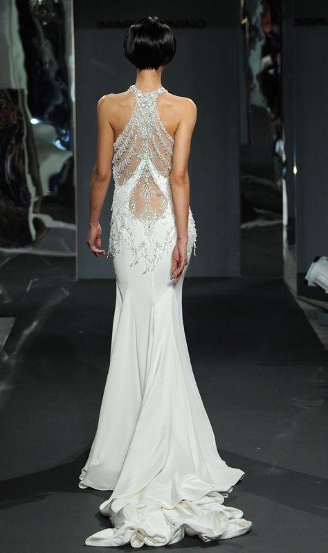 Mark Zunino Wedding Dress//Photo by Kurt Wilberding