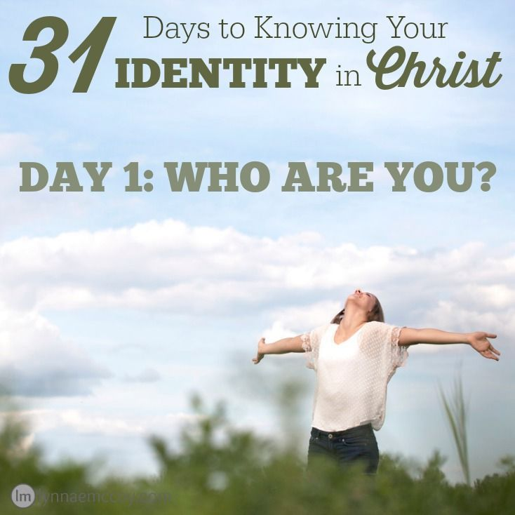 Join me for 31 Days to Knowing Your Identity in Christ. Do you know who you are? #write31days