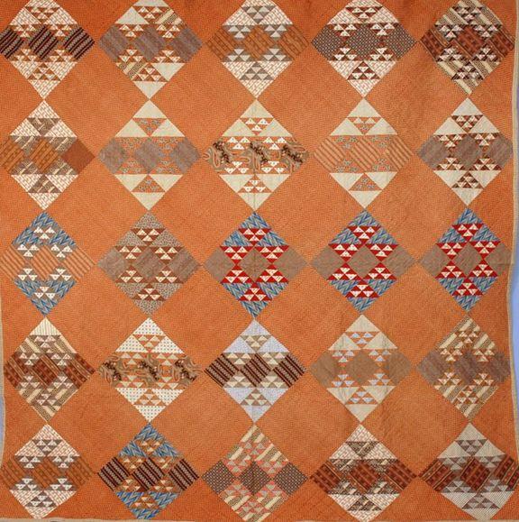 Vintage quilt---1870s?