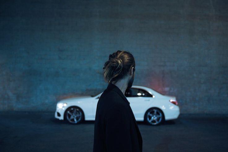 Photo by Tobias Hutzler. #tobiashutzler #photography #carporn #mercedesbenz #night