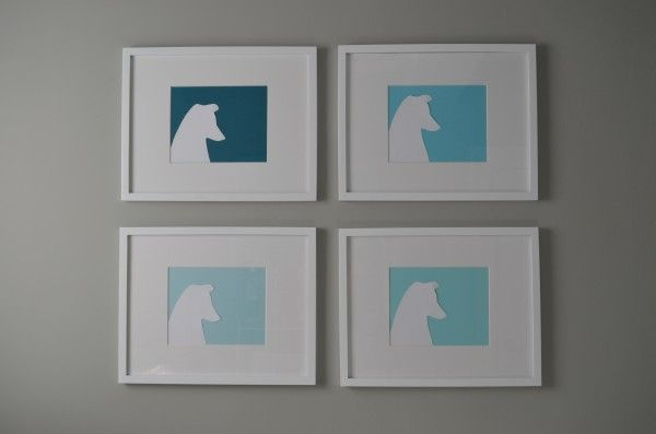 I could attempt to make this of George for our Gallery wall: Silhouette Art, Dogs Silhouette, Diy'S, Dogs Art, Dogs Prints, Diy Dogs, Dog Art, Dogs Portraits, Bedrooms Ideas