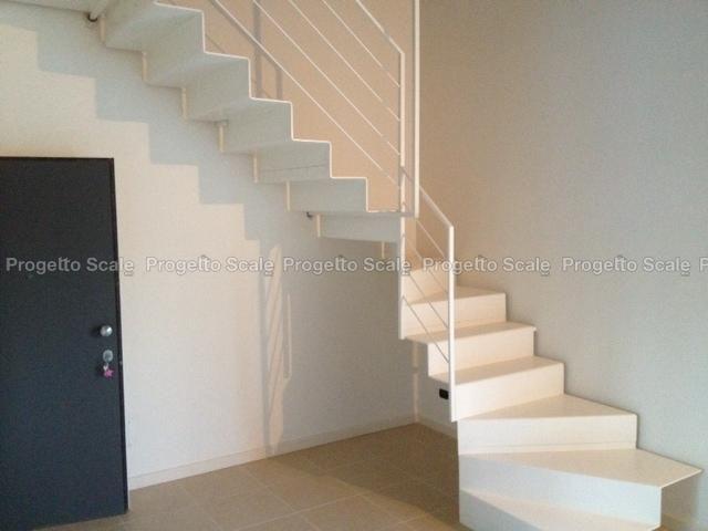 Scale in metallo pressopiegato 03 scale per interni - Scale per interni milano ...