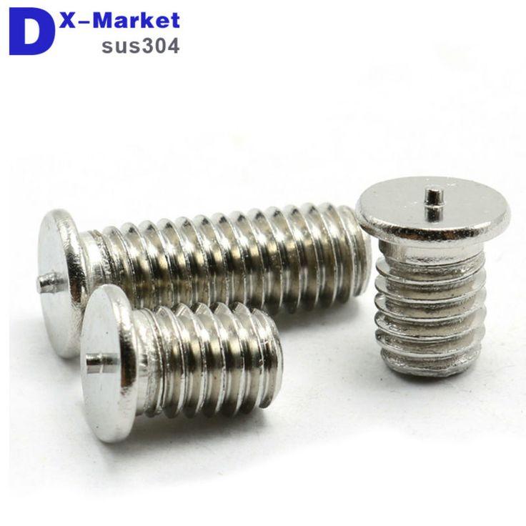 m3 welding  screw , 304 Stainless steel welding stud bolts , Spot welding screw 4mm-50mm