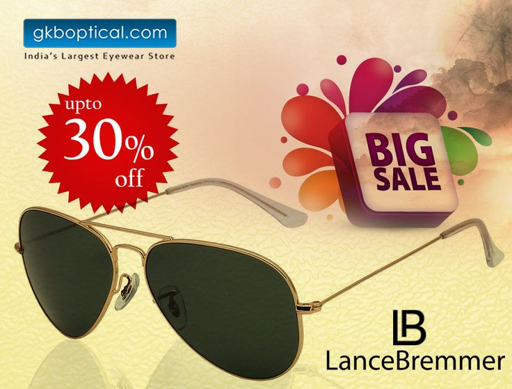 Score attractive deals at GKB Opticals. Shop Lance Bremmer LBS 1514 C1, from the largest collection of affordable sunglasses in India at http://bit.ly/29GWfN1