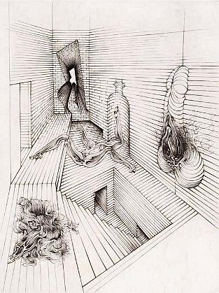 The Brick Cell - Hans Bellmer (c. 1930)