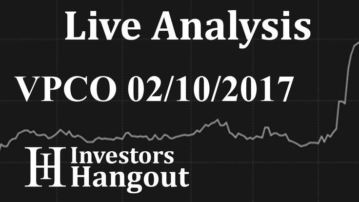$VPCO Stock Live Analysis 02-10-2017 Vapor Corp. (VPCO): $VPCO Stock Live Analysis 02-10-2017 Vapor Corp. (VPCO)
