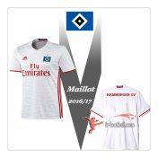 Le Nouveau Flocage Maillot De Foot Hamburger SV Domicile 2016 2017
