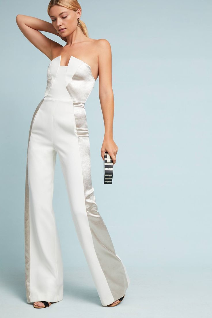 Shop the Lena Metallic Jumpsuit and more Anthropologie at Anthropologie today. Read customer reviews, discover product details and more.