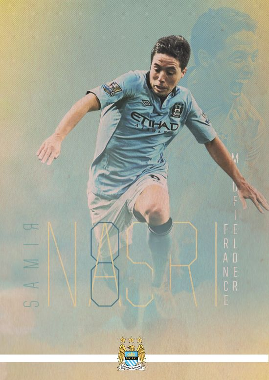 Manchester City Poster Series by Eduardo Diazmuñoz, via Behance