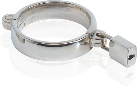 "Give ""precious metals"" a whole new meaning with this luxurious metal cockring. Cast in high quality steel and hand-polished to perfection, this heavy duty pleasure enhancer is equal parts art and pleasure."