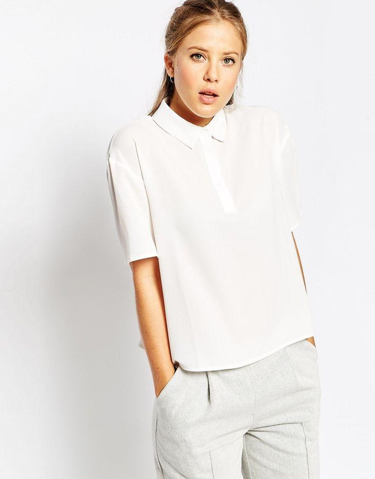 Image 1 ofASOS Smart Polo T-Shirt