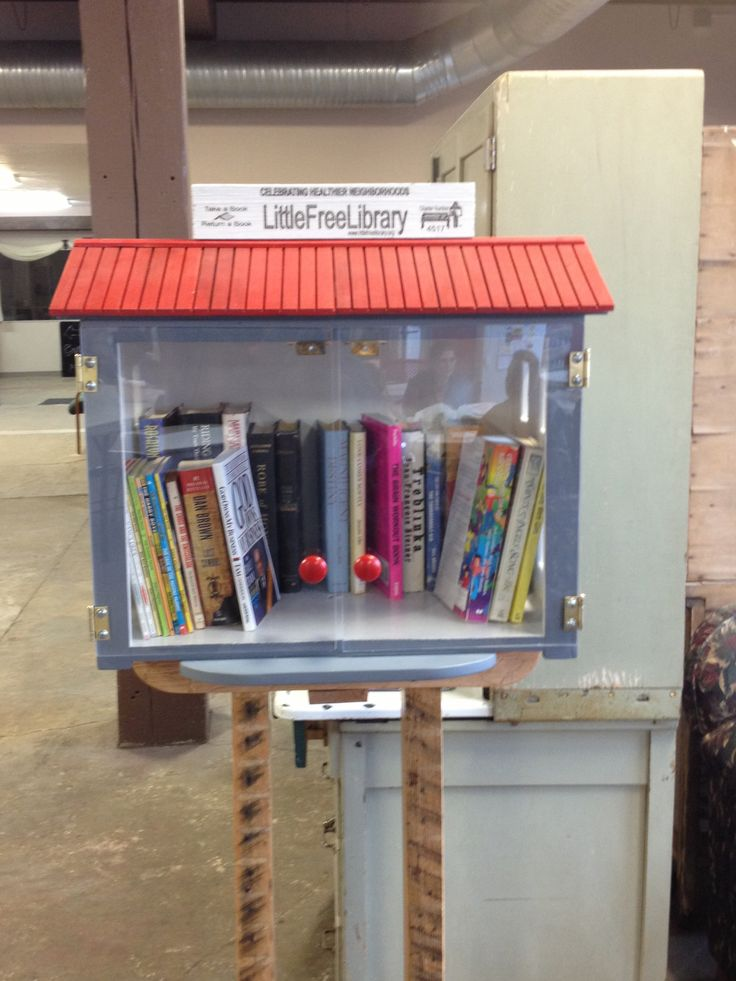 #littlefreelibrary Coppes Commons: Nappanee, Indiana
