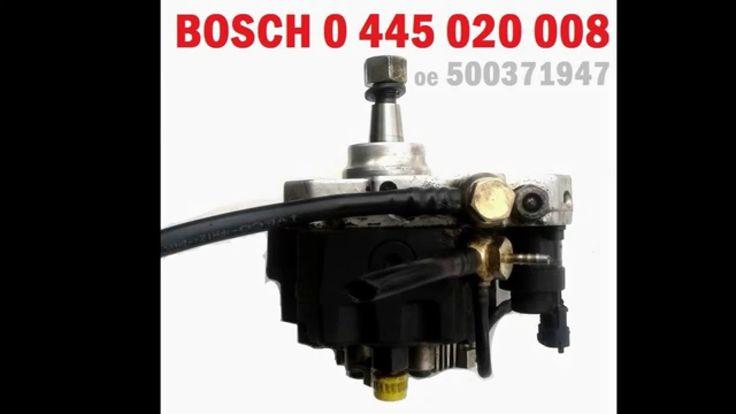 Pompa wtryskowa ciśnienia paliwa FIAT DUCATO 2.3 JTD BOSCH 0445020008500...