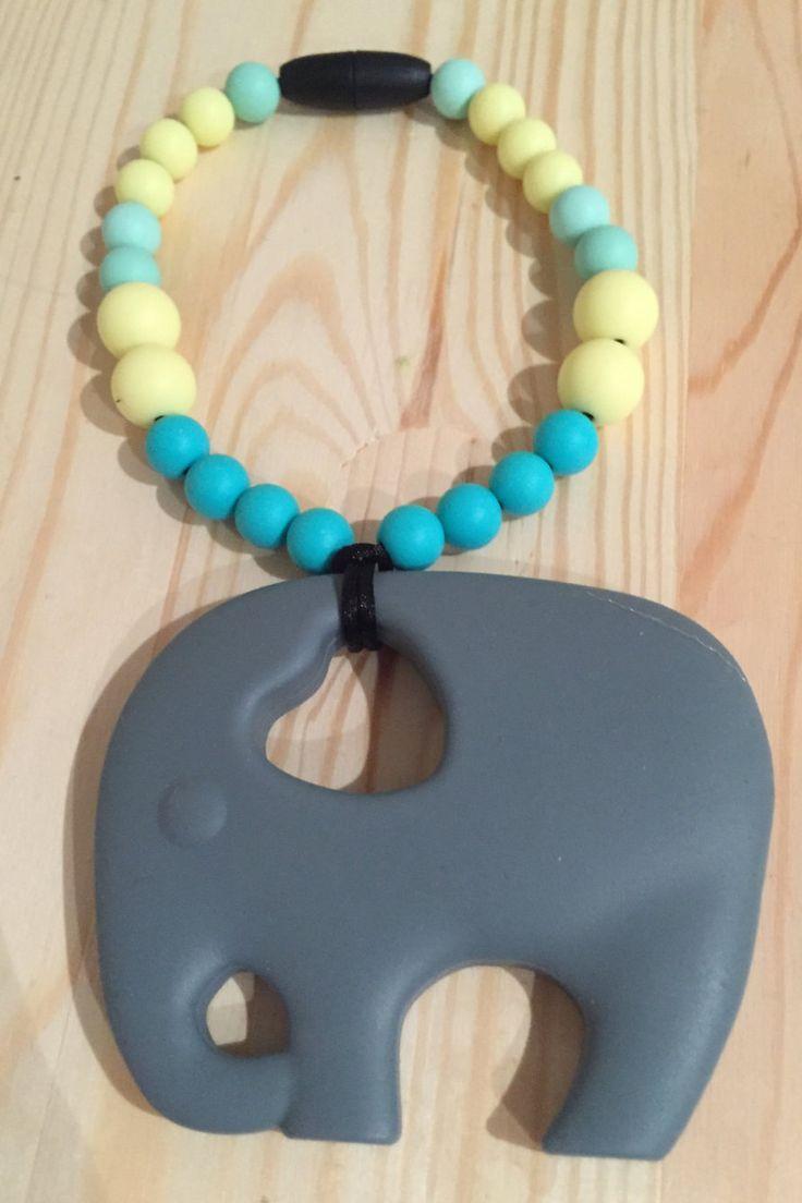 Elephant Teething Toy by BabyBCreations1 on Etsy