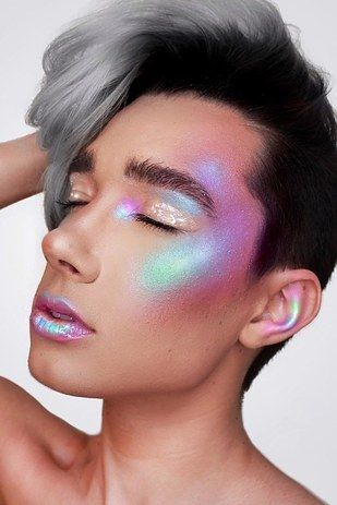 """James Charles, 17 years old 