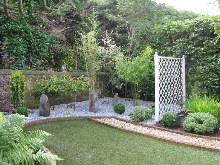 9 best backyard ideas images on pinterest backyard ideas for Backyard low maintenance landscaping ideas