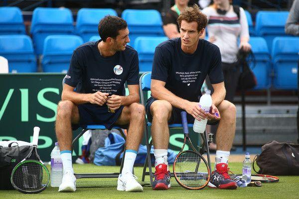 James Ward Photos: Great Britain v France - Davis Cup: Previews