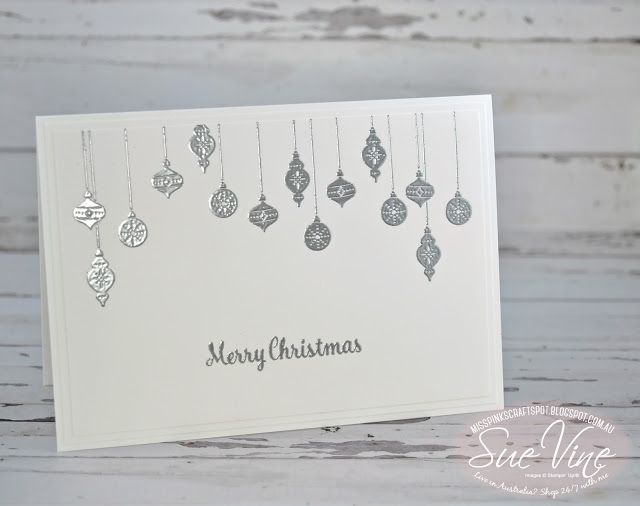 Miss Pinks Craft Spot: Christmas in July with decorations from Carols of Christmas