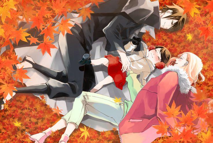 Tags: Fanart, NARUTO, Haruno Sakura, Uchiha Sasuke, Pixiv, Fanart From Pixiv, Uchiha Sarada, Pixiv Id 17610784