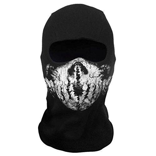 Call Of Duty 10 Cod Ghosts Logan Balaclava Ski Skull Hood: Call Of Duty 10 COD Ghost Balaclava Logan Skull Face Mask