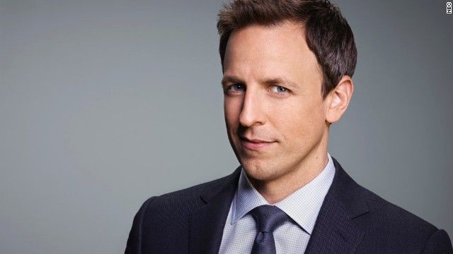 Seth Meyers: From 'Saturday Night' to 'Late Night'  First guest...VP Joe Biden! So...i love both guys cuz of their awesome smiles...i will be excited for show tonight!
