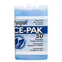 Bulk Cryopak Ice-Pak 50 Reusable Ice Packs at DollarTree.com