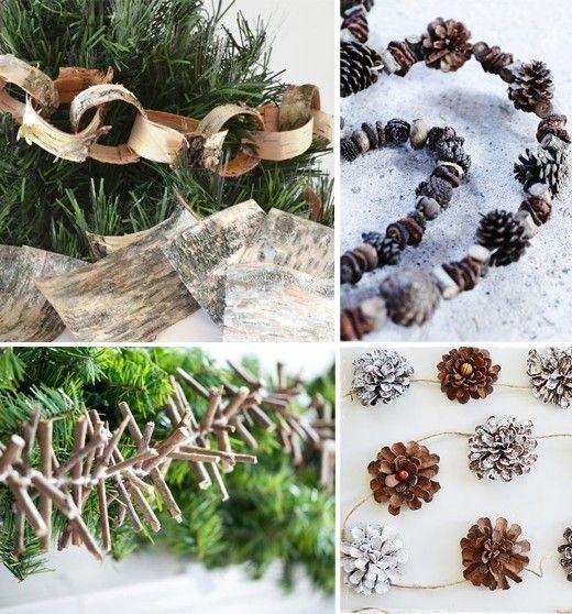 Vysněná zahrada: Domácí vánoční ozdoby ze zahrady