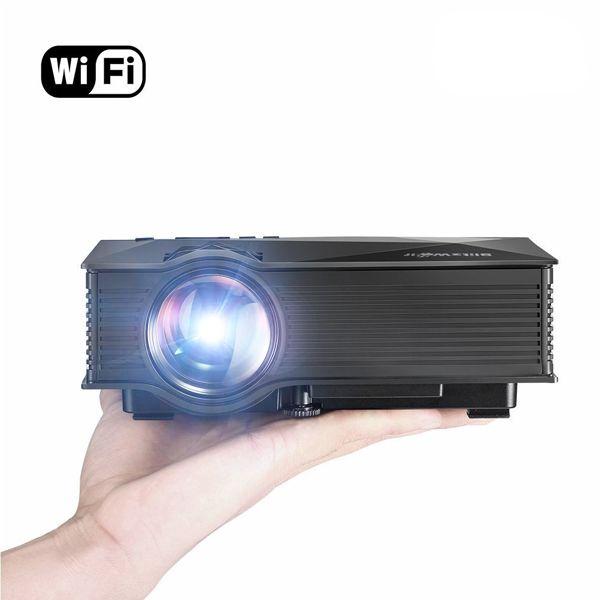 BlitzWolf® BW-MP1 Mini Portable WIFI Wireless Video Led Projector Support 1080P Home Theater Cinema