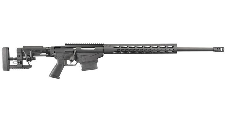The beautiful #Ruger Precision Rifle. The marksman trigger on this thing is awesome. #guns #sniperrifle