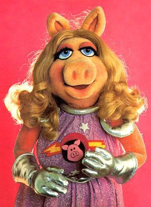 Miss Piggy - 😂...would be funny to see!