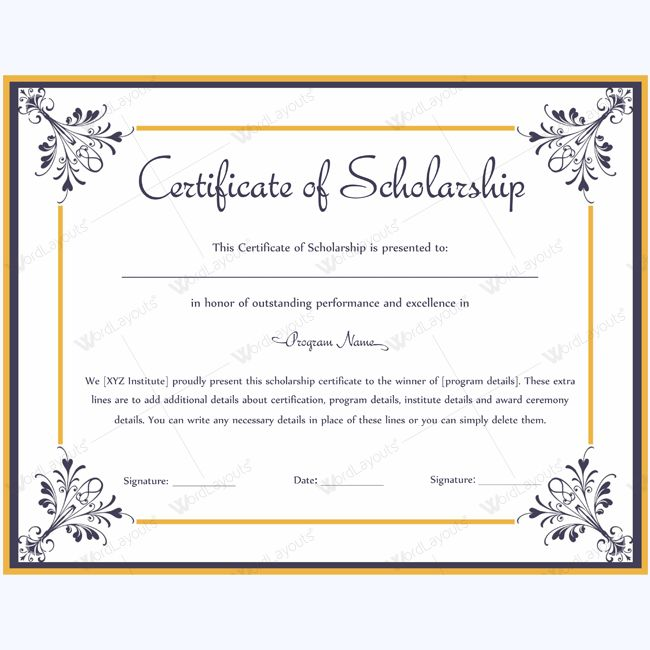 13 best certificate of scholarship templates images on pinterest certificate of scholarship template scholarshiptemplate certificateofscholarship certificate scholarshipaward yadclub Choice Image