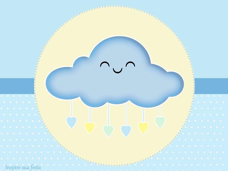 Chuva de bençãos Meninos: Kit festa grátis para imprimir – Inspire sua Festa ®  http://inspiresuafesta.com/chuva-de-bencaos-meninos-kit-festa-gratis-para-imprimir/