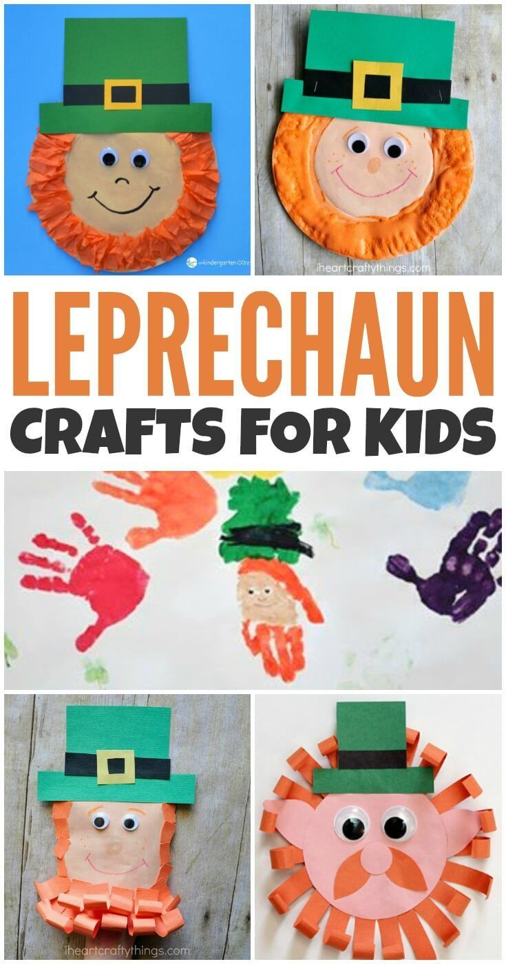 Leprechauns and St. Patrick's Day go together like PB&J. So, why not gather the kids around the table and make some of these leprechaun crafts for kids?