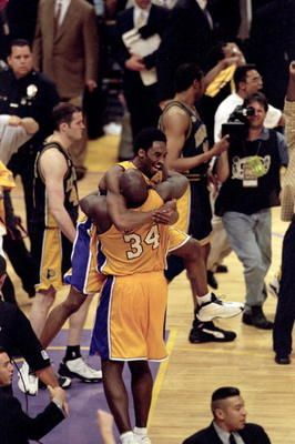 This Day In Basketball History: June 19,2000 - Los Angeles Lakers beat Indiana Pacers 4-2 in NBA finals MVP: Shaquille O'Neal, L.A.  keepinitrealsports.tumblr.com  keepinitrealsports.wordpress.com  Mobile- m.keepinitrealsports.com