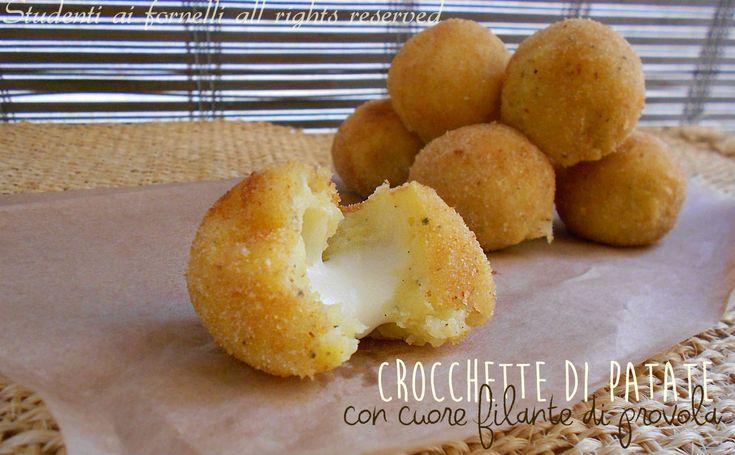 Crocchette di patate e provola filante