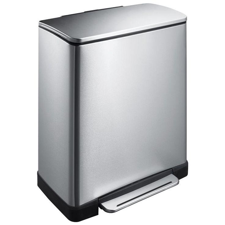 EKO Pedaalemmer E-Cube recycling 28+18 L kopen? Bestel bij fonQ.nl