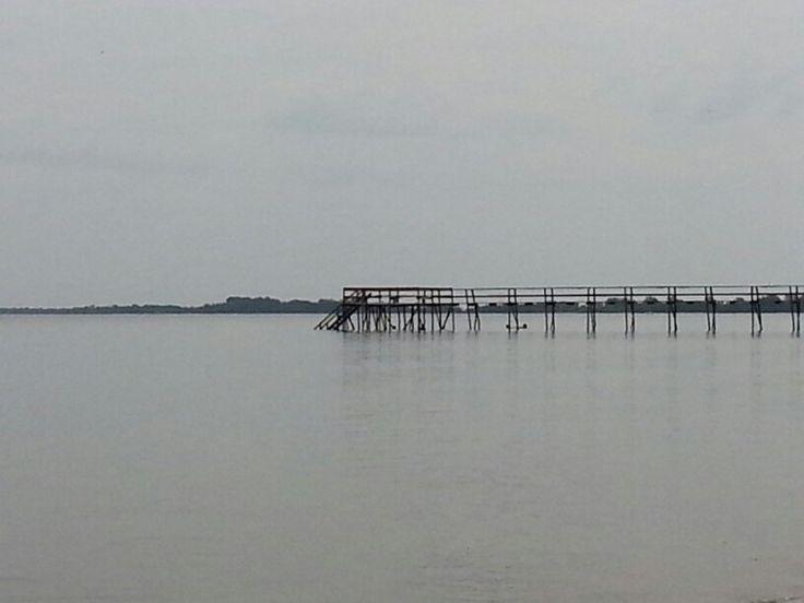 Pier at Matlock, Manitoba
