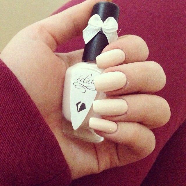 My new fav colour <3 #eclair #eclairnail #nude #nails #nailart #nailporn