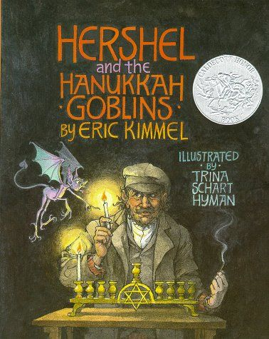 A Caldecott Honor Book illustrated by Trina Schart Hyman. A traveler rids a village synagogue of ghosts.