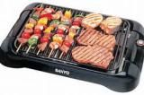 Sanyo Smokeless Indoor Electric Grill HPS-SG3: Sanyo Smokeless Indoor Electric Grill